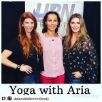 Aria Morgan on Del and Debi Mind Body Soul LIVE Internet Radio