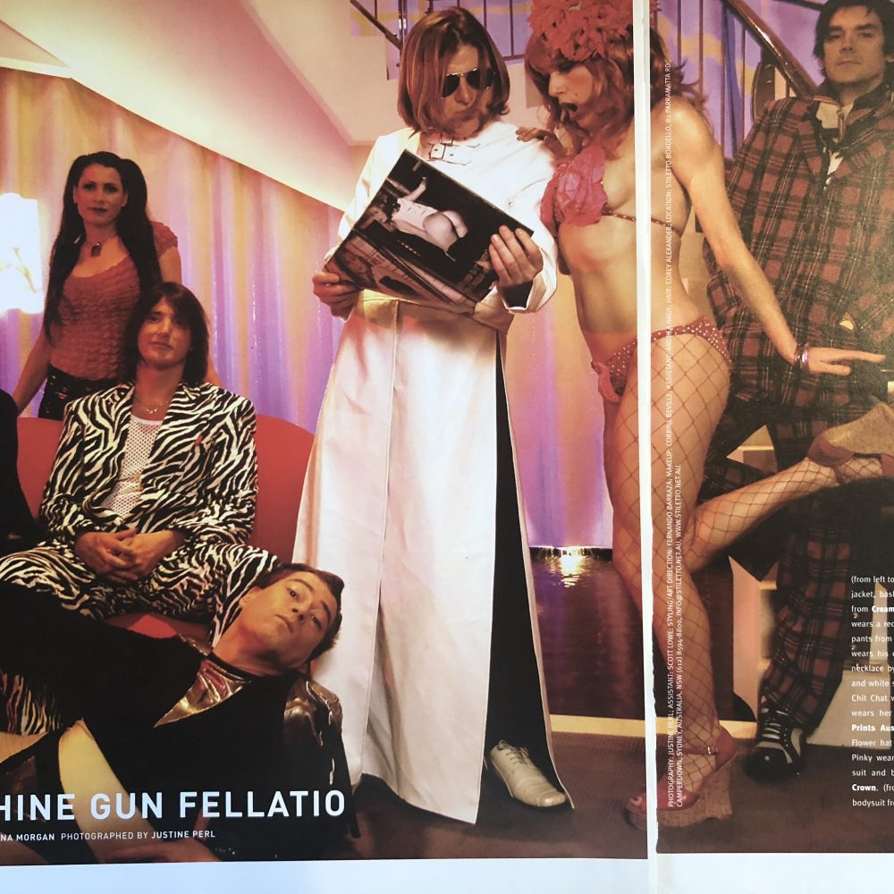 Machine Gun Fellatio – FLAUNT Magazine