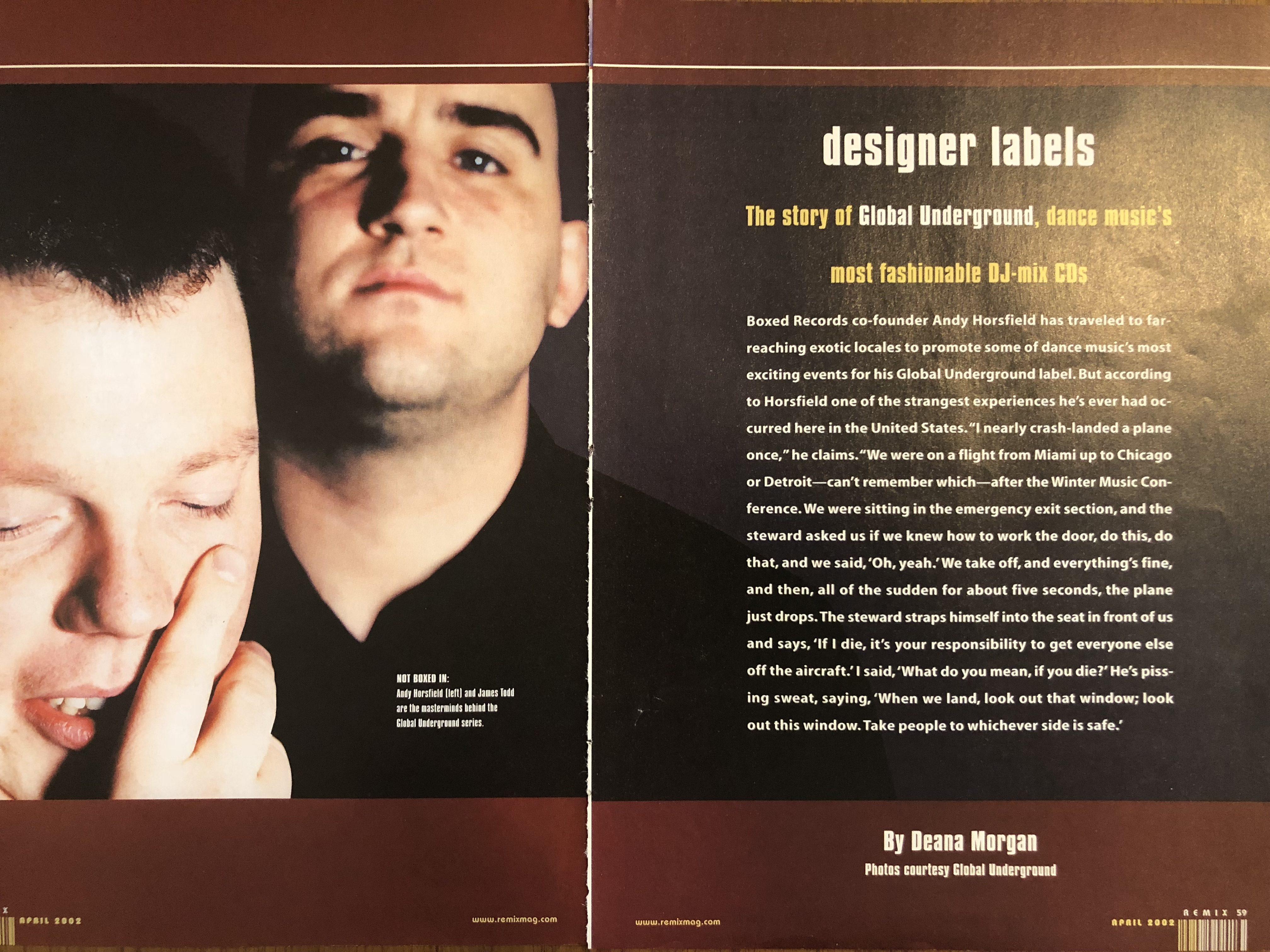 Designer Labels REMIX Magazine