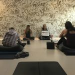 Aria teaching Family Yoga Teacher Training at Light on Lots